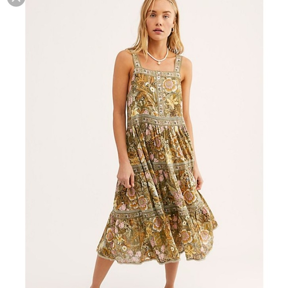 Spell & The Gypsy Collective Dresses & Skirts - Jungle Midi Dress XS